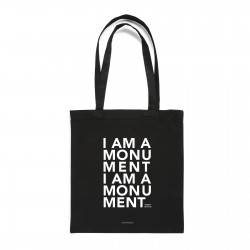 I AM A MONUMENT TOTEBAG