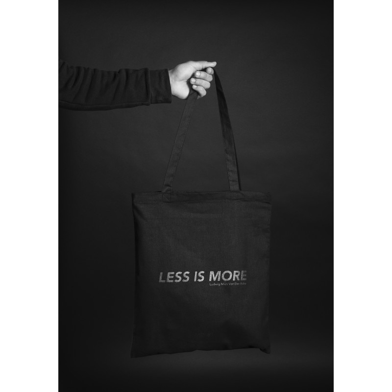 f7ce44d31c92 LESS IS MORE TOTEBAG  LESS IS MORE TOTEBAG