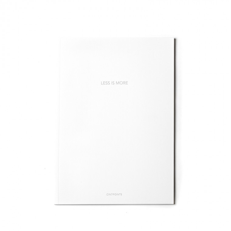 ARCHIQUOTE SKETCHBOOK WHITE