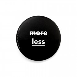LESS IS MORE BLACK BADGE