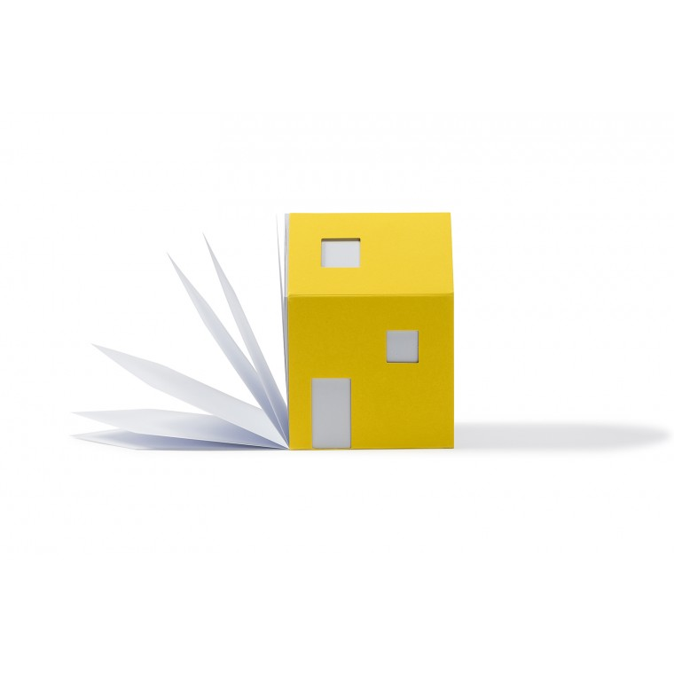 BLOC NOTES - HOUSE OF NOTES BAUHAUS Jaune