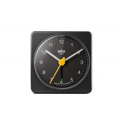 ALARM CLOCK BRAUN - BLACK