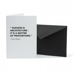FASHION ARCHITECTURE CARD