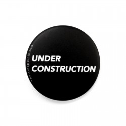 UNDER CONSTRUCTION BADGE