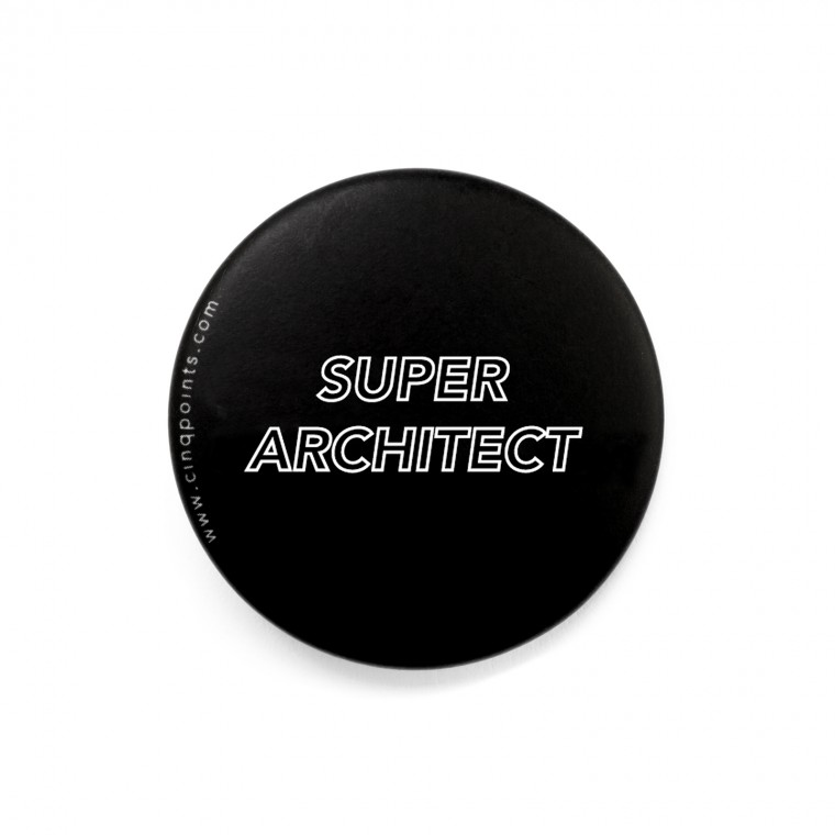 SUPER ARCHITECT BADGE