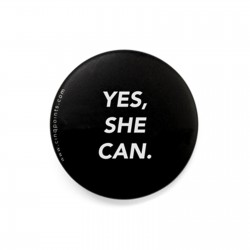YES SHE CAN BADGE