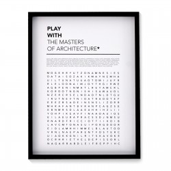 PLAY WITH NAMES POSTER (FRAMED)