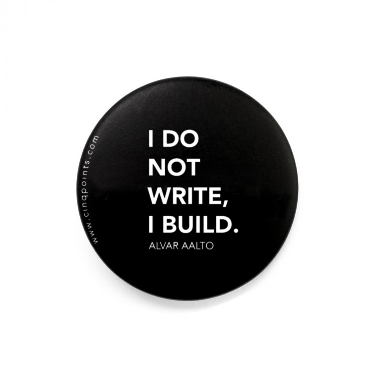 I DO NOT WRITE BADGE